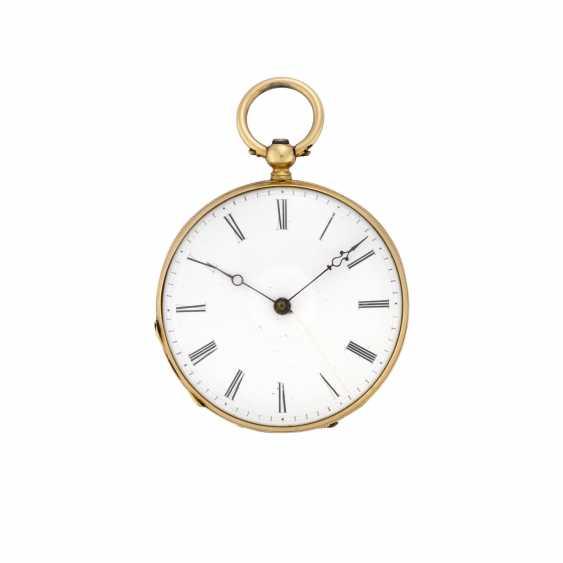EUGENE BORNAND: Orologio da tasca in oro 18K - photo 1