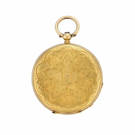 EUGENE BORNAND: Orologio da tasca in oro 18K - photo 2