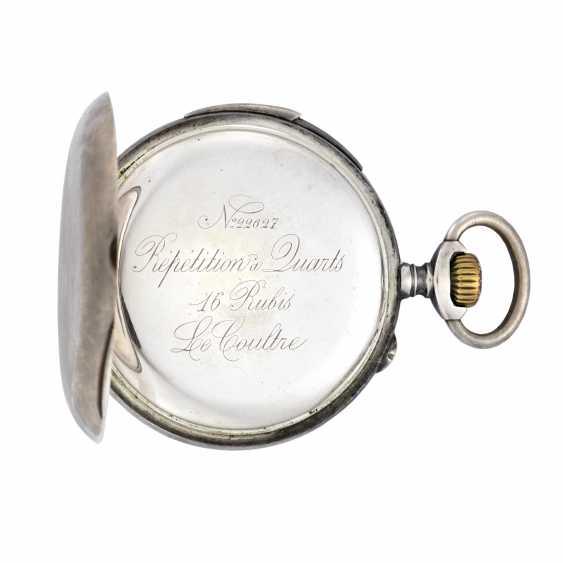 LECOULTRE: Orologio da tasca argento - photo 2