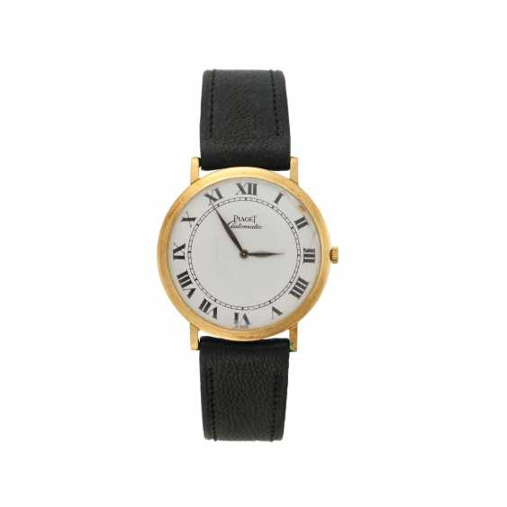 PIAGET: gentleman's wristwatch of 18K gold ultra-thin - photo 1