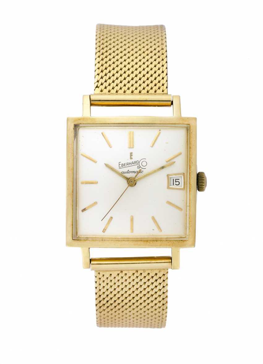 EBERHARD: Orologio da polso da uomo in oro 18K con bracciale in oro - photo 1