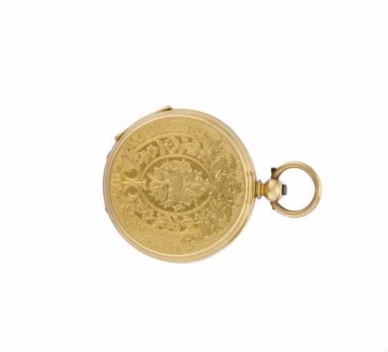 ANONIMO: Orologio da tasca in oro 18K, savonnette - photo 2