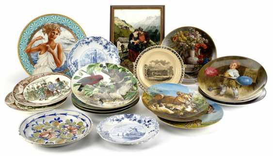 MIXED LOT OF PLATES AND IMAGE PLATE - photo 1