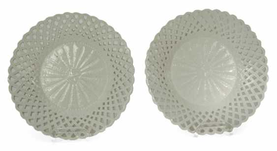 PAIR OF PORCELAIN PLATES, MAXIMUM, - photo 1