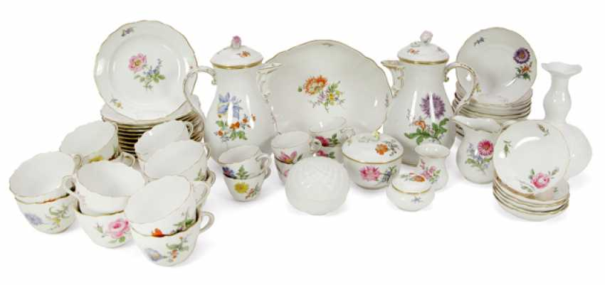 COFFEE SERVICE, MEISSEN, COLORFUL - photo 1