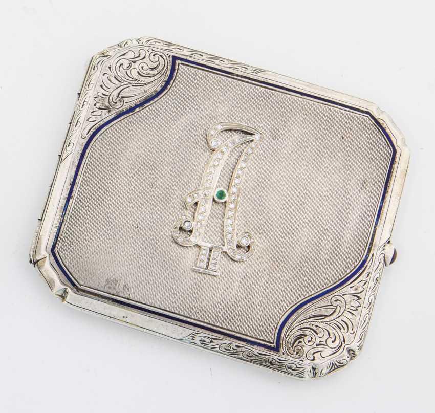 Zigarettenetui mit Monogramm Alexander II - Foto 1