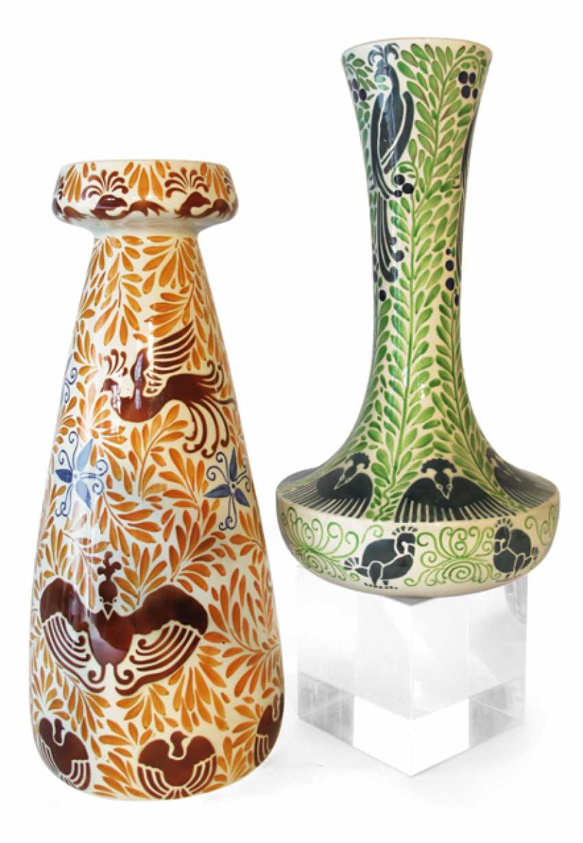 TWO VASES, CALLED HBMC FRANCE, - photo 1
