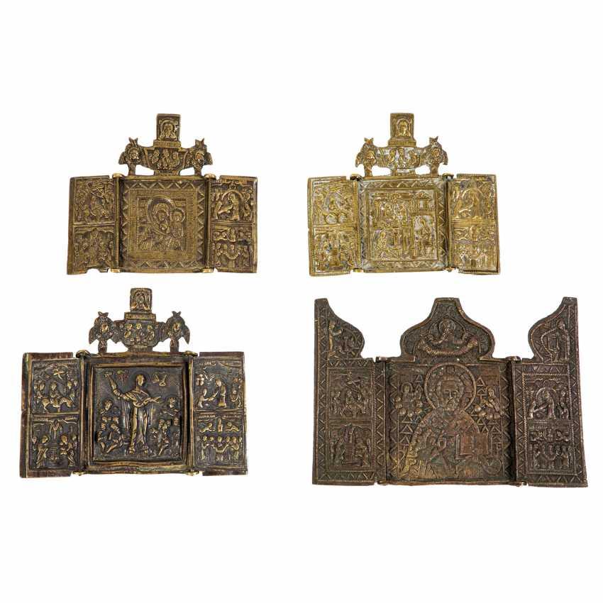 Vier Bronze-Triptychen - photo 1