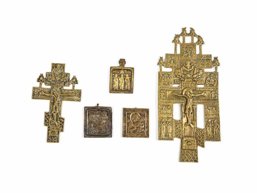 Fünf Bronzeikonen - photo 1