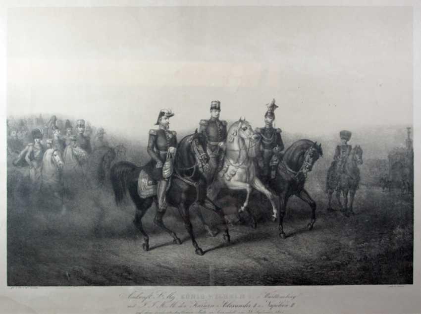 KING WILHELM I V. W.,Tsar ALEXANDER II - photo 1