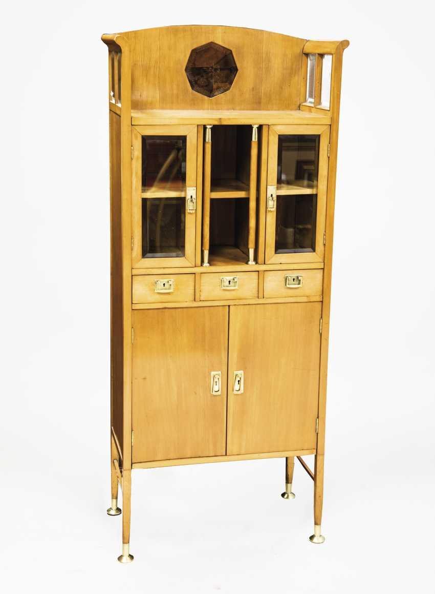 Art Nouveau Display Cabinet - photo 1
