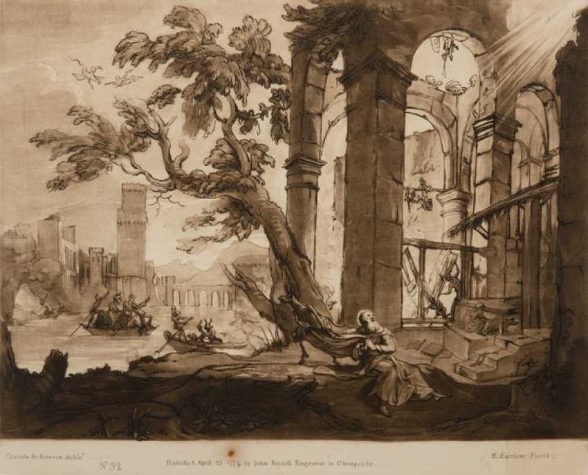 BEZEICHNET CLAUDE LORRAIN/ R. EARLOM - photo 1