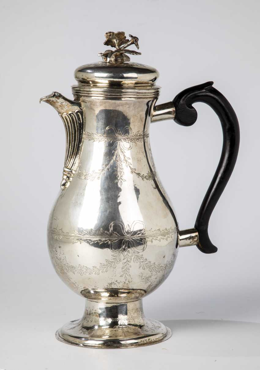 Large Silver Jug - photo 1
