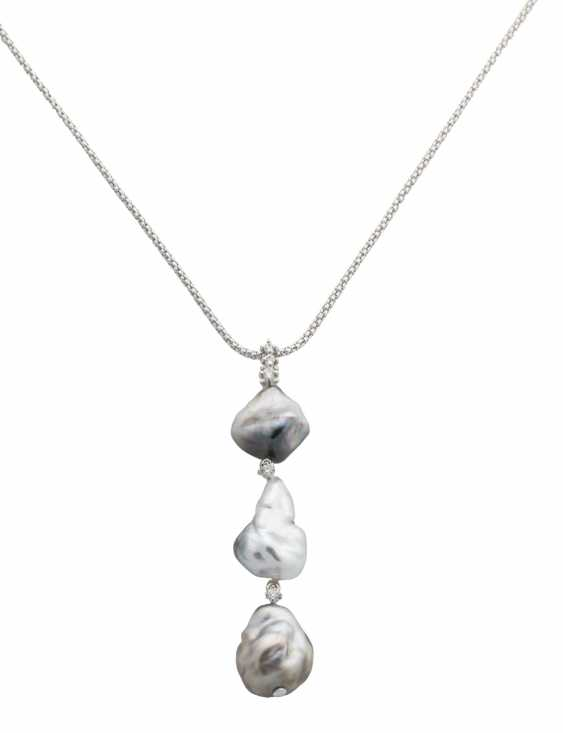 Necklace with Tahitian pearls - photo 1