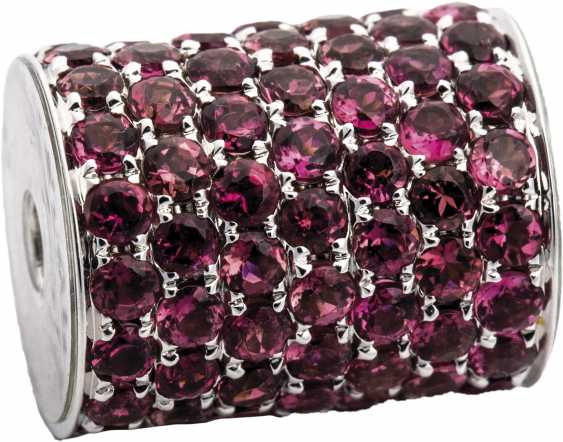Necklace clasp with pink tourmaline - photo 1