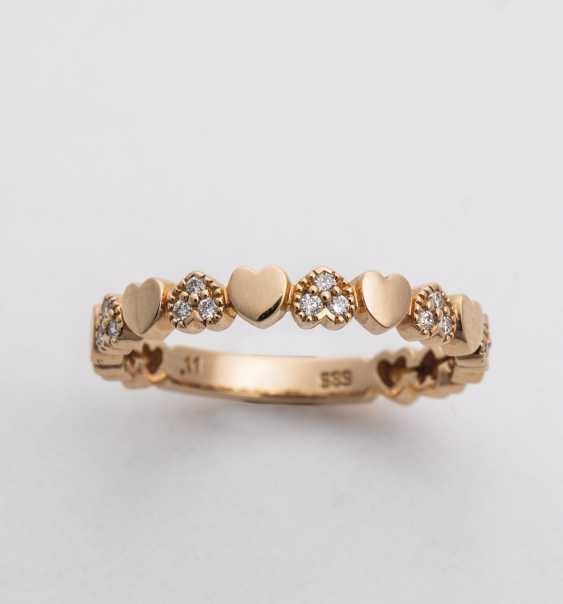 Hearts ring - photo 1