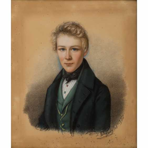 """WAGNER, LUDWIG (1780-?), """"Baron Albrecht von Tessin-high village (12.10.1820-25.8.1891)"""", - photo 1"""