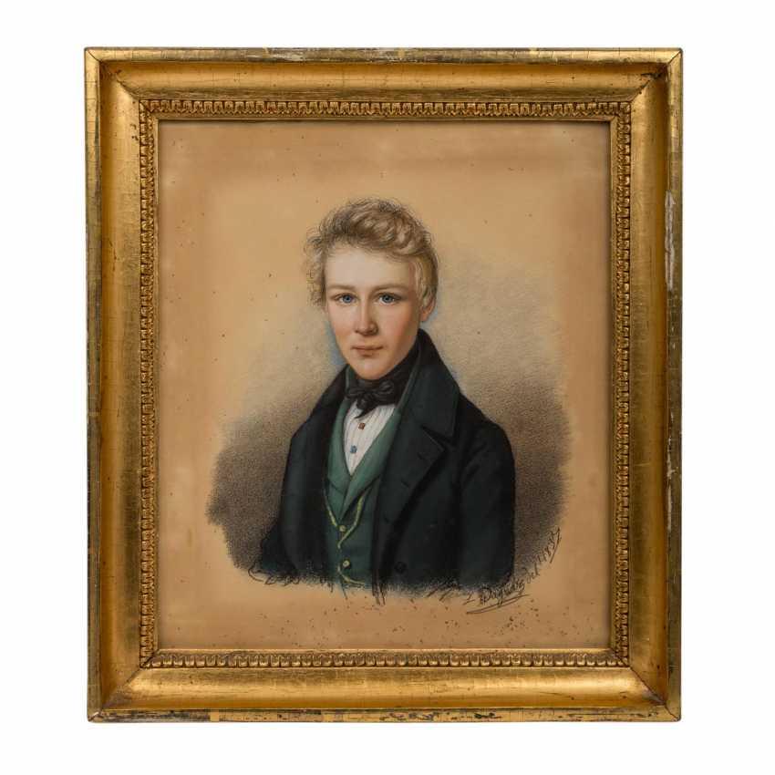 """WAGNER, LUDWIG (1780-?), """"Baron Albrecht von Tessin-high village (12.10.1820-25.8.1891)"""", - photo 2"""