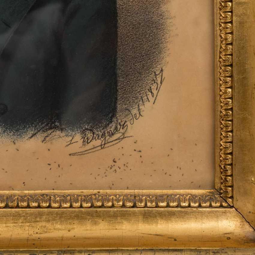 """WAGNER, LUDWIG (1780-?), """"Baron Albrecht von Tessin-high village (12.10.1820-25.8.1891)"""", - photo 3"""