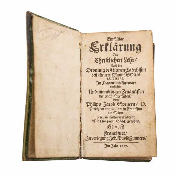 Small religious Scripture, 17. Century. - - photo 1