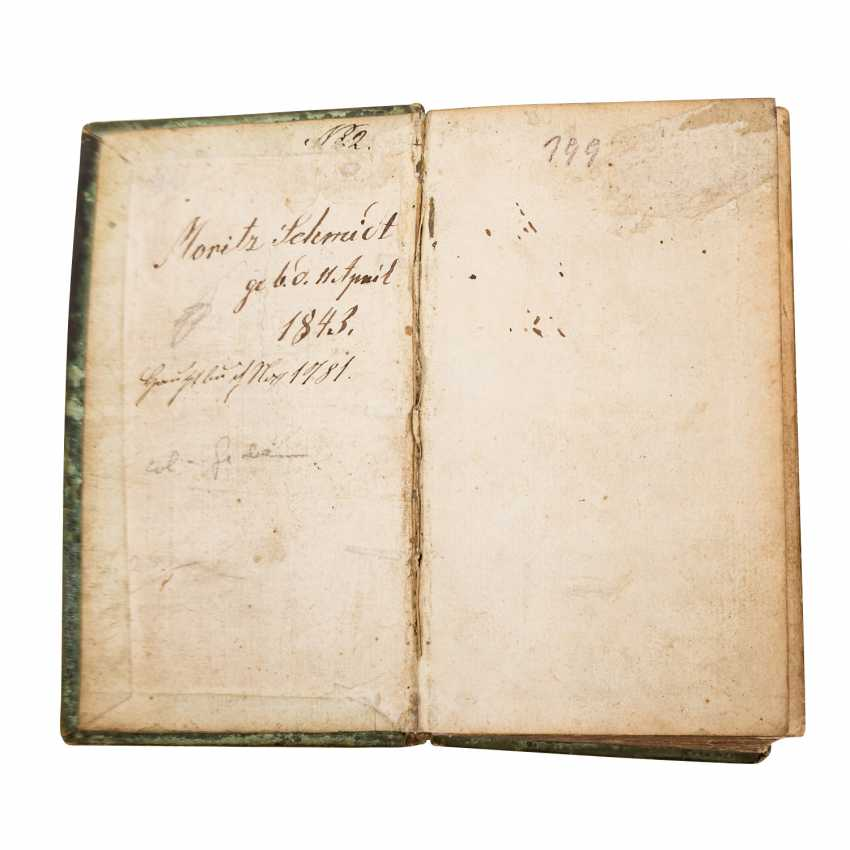 Small religious Scripture, 17. Century. - - photo 2