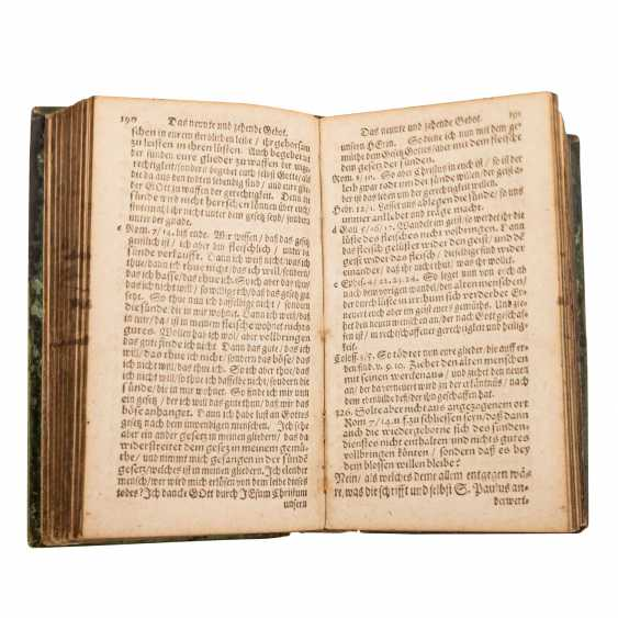 Small religious Scripture, 17. Century. - - photo 3