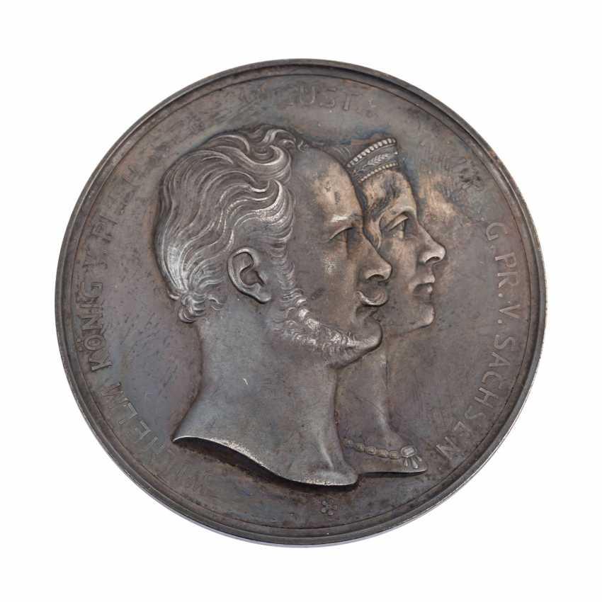 Brandenburg/Prussia - Silver commemorative medal 1902, Kaiser Wilhelm II, - photo 1