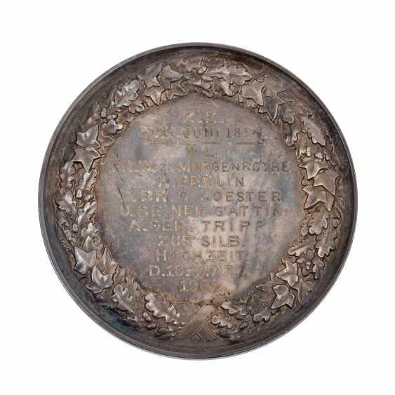 Brandenburg/Prussia - Silver commemorative medal 1902, Kaiser Wilhelm II, - photo 2