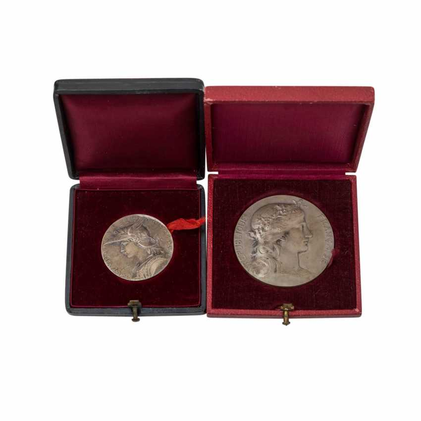 2 prize medals, third French Republic (1870-1940) - - photo 1
