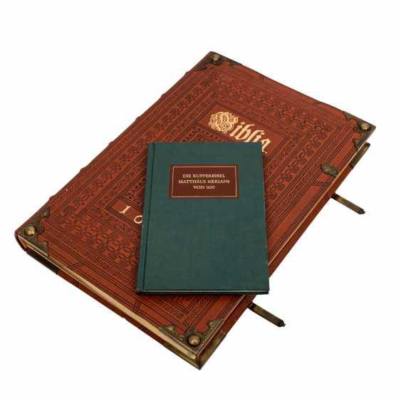 Facsimile Bible Matthew Merians von 1630, - photo 1