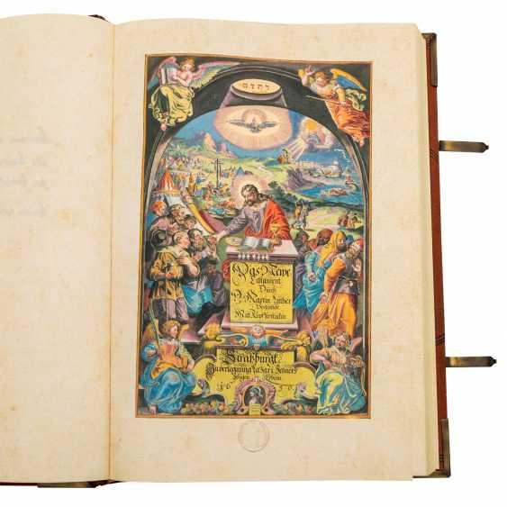 Facsimile Bible Matthew Merians von 1630, - photo 2