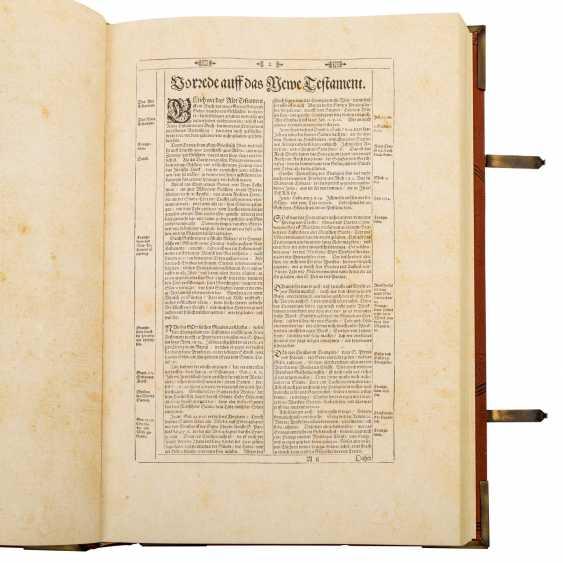 Facsimile Bible Matthew Merians von 1630, - photo 3