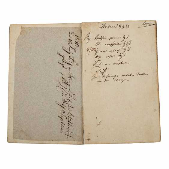 Hand-written recipe book of the 19th century. Century - photo 2