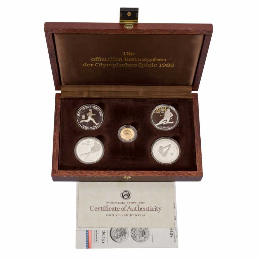 Olympic GOLD and SILVER Set with the official - photo 1