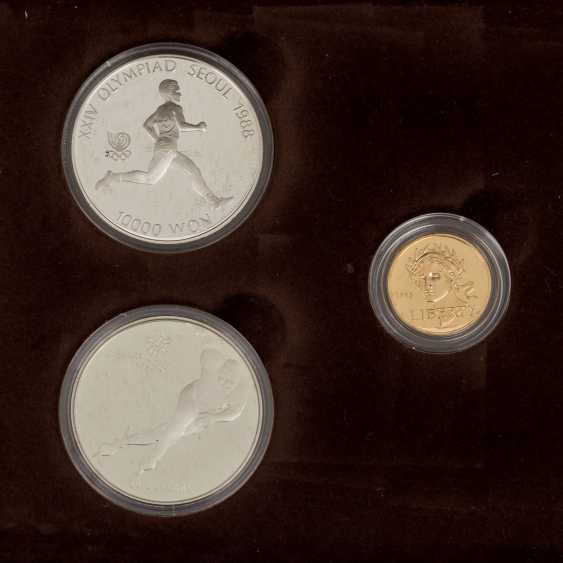 Olympic GOLD and SILVER Set with the official - photo 2