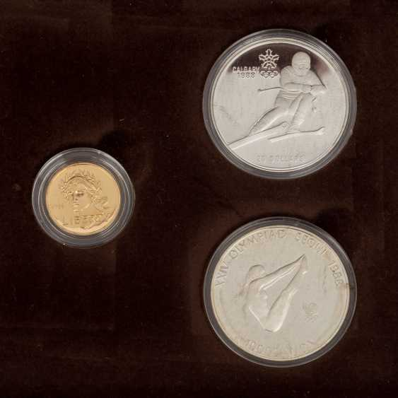 Olympic GOLD and SILVER Set with the official - photo 3