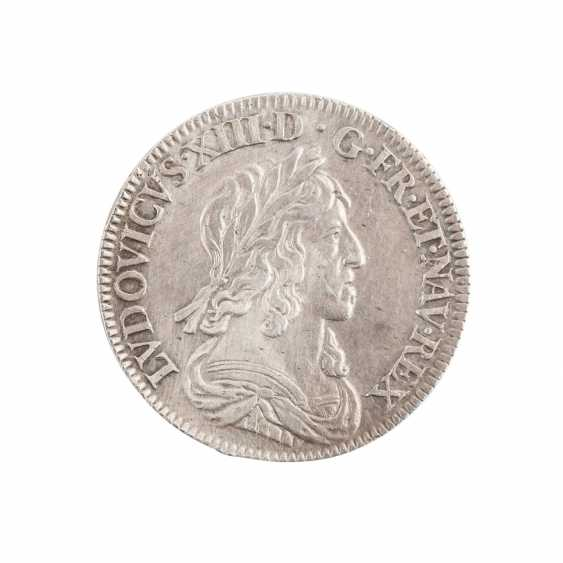 France - Louis XIII, 1610-1643, 1/4 Ecu 1643 A, Paris. - photo 1