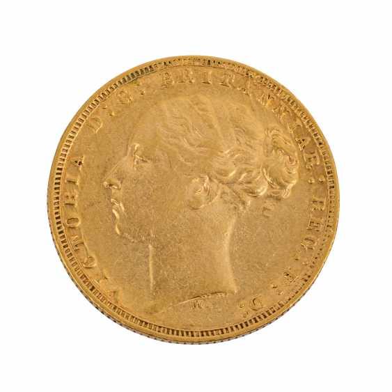 UK / Australia - Sovereign 1873/M, - photo 1
