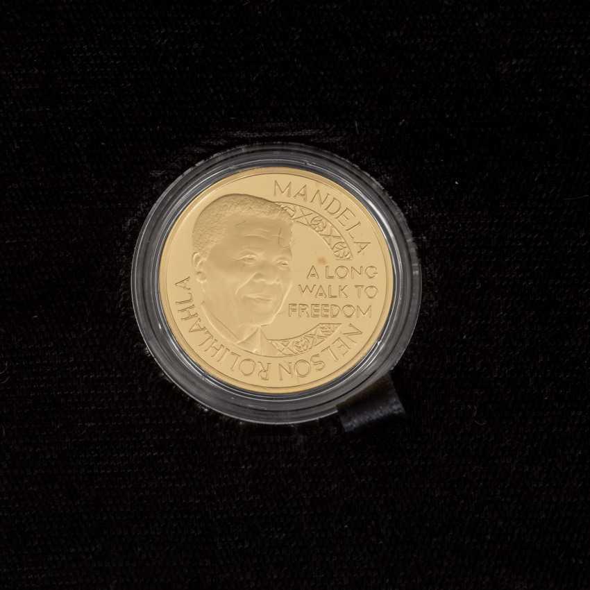 South African Nobel prize winner - 4 x 1/4 oz Gold, - photo 2
