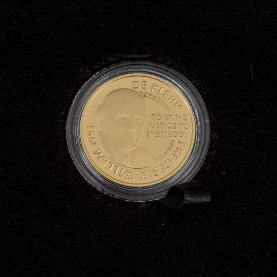 South African Nobel prize winner - 4 x 1/4 oz Gold, - photo 3