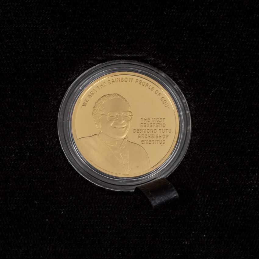 South African Nobel prize winner - 4 x 1/4 oz Gold, - photo 4