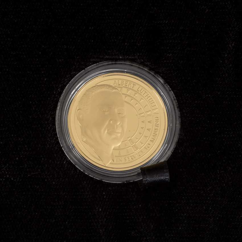 South African Nobel prize winner - 4 x 1/4 oz Gold, - photo 5