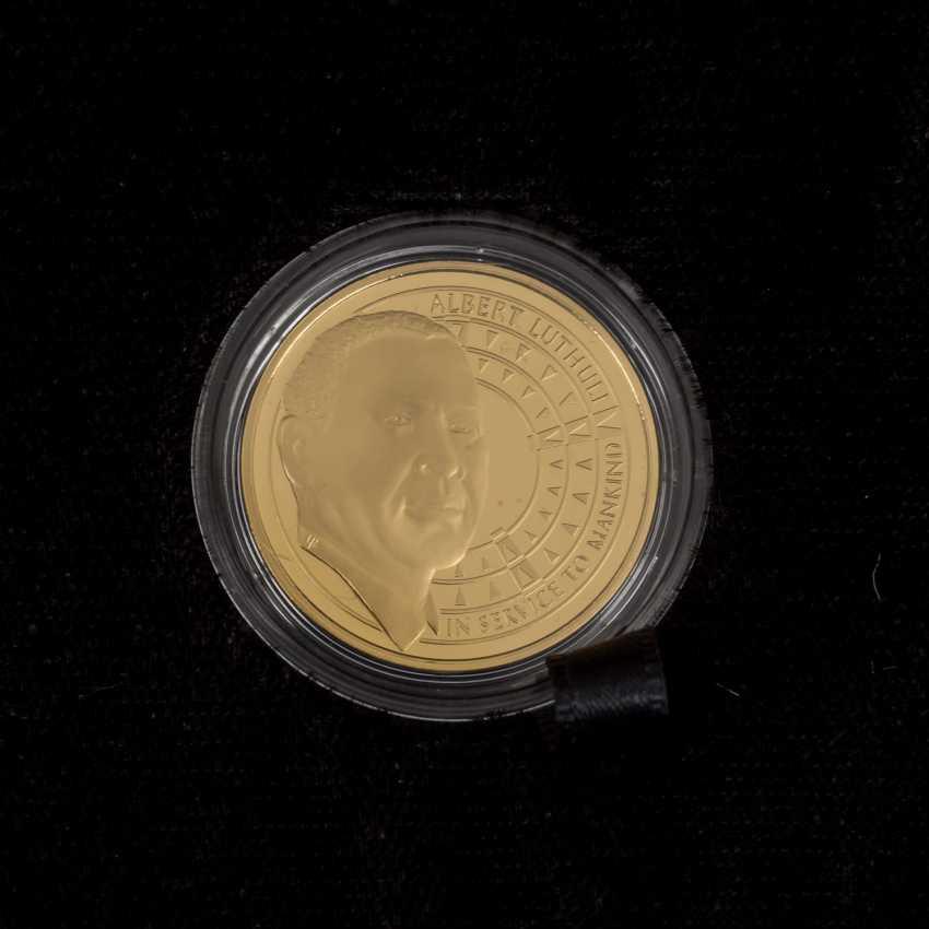South African Nobel prize winner - 4 x 1/4 oz Gold, - photo 6