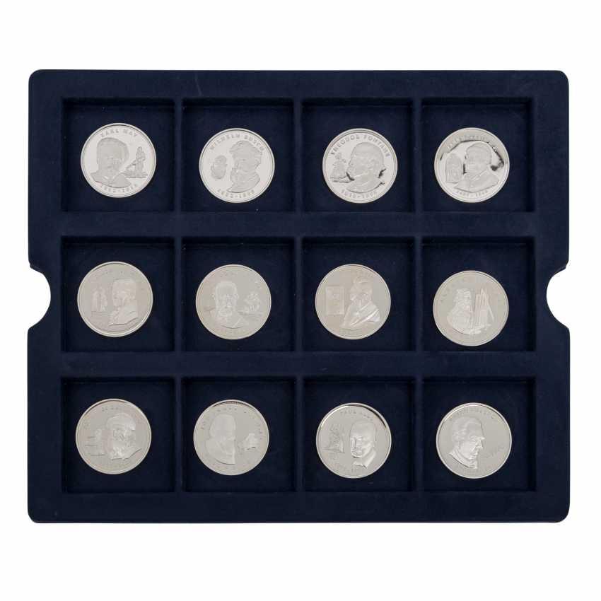 Silver medals min. 200 g fine, - photo 2