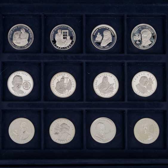 Silver medals min. 200 g fine, - photo 4