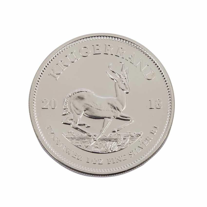 South Africa SILVER 25 x Krugerrand 2018, - photo 4