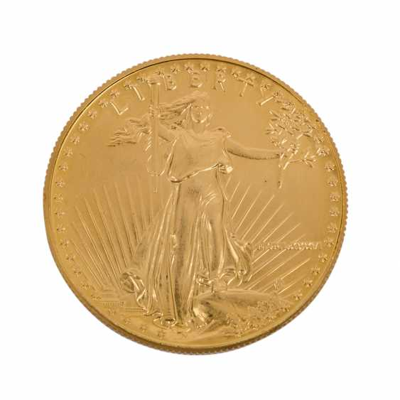 USA/GOLD - 50 Dollars 1986, vz-stgl., American Eagle, - photo 1