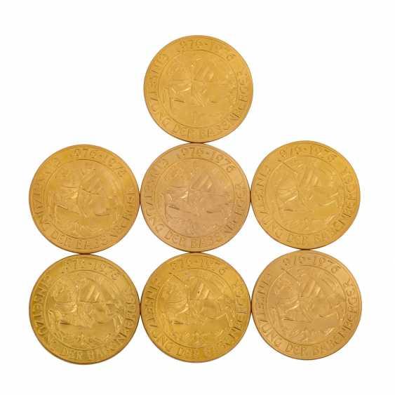 Austria/GOLD - 7 x 1000 Schilling babenberg, - photo 1