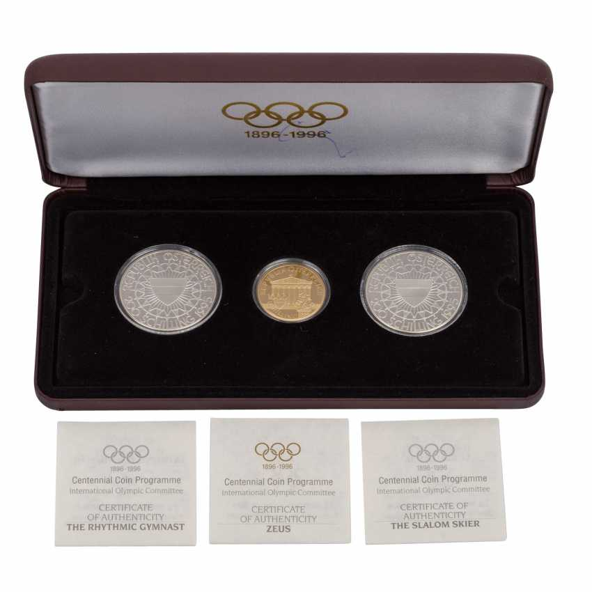 100 years of the Olympic games in GOLD and SILVER, - photo 1
