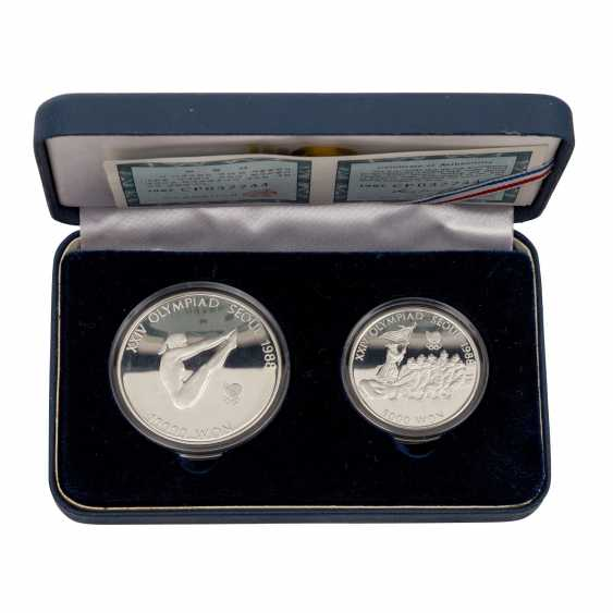 Olympic coins, Russia 1980 Moscow, 5 Sets - photo 3